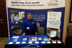 CAHP Booth at EquityTrustConvention2014