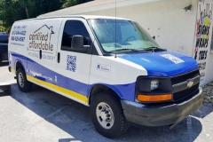 Nolvin's CAHP Van